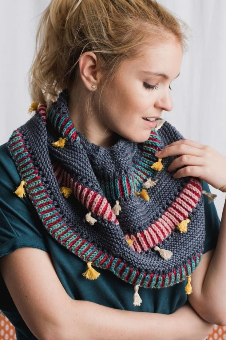 30-free-autumn-colors-knitted-hat-and-scarf-pattern-ideas-new-2020