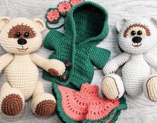 honey-teddy-bears-in-love-crochet-free-pattern